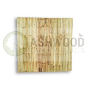 Ashwood Timber Products | Garden | Fencing | Closeboard Fence Panel - Straight Top