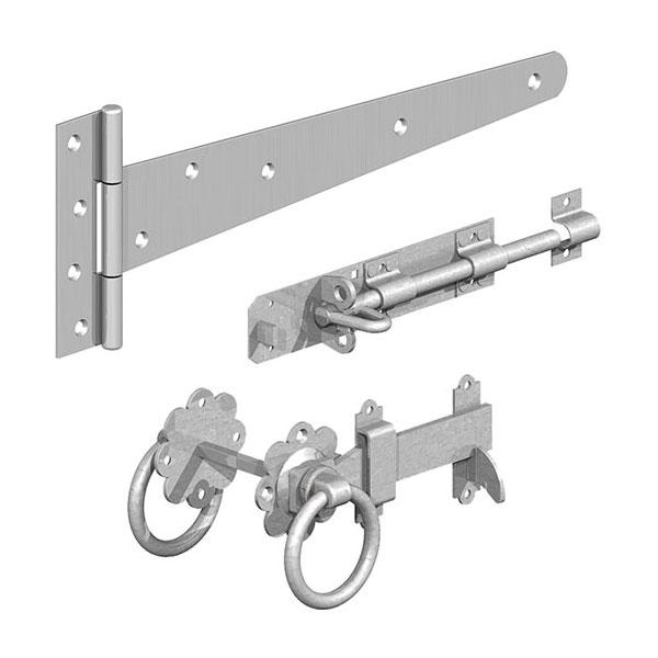 Ashwood Timber Products | Hardware | Gate Latches | Galvanized