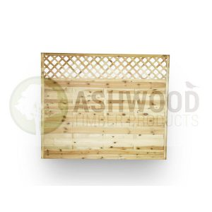 Ashwood Timber Products | Garden | Fencing | Horizontal Lattice Panel