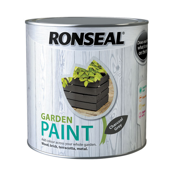 Ashwood Timber Products | Brands | Ronseal Garden Paint | Charcoal Grey