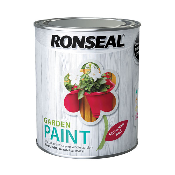 Ashwood Timber Products | Brands | Ronseal Garden Paint | Moroccan Red