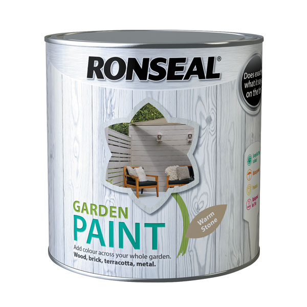 Ashwood Timber Products | Brands | Ronseal Garden Paint | Warm Stone